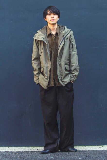 古着を1点投入して、こなれ感とクリーンさを両立