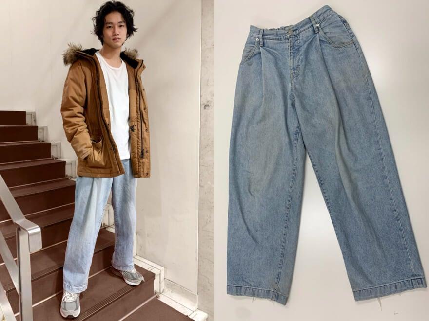 【回しの達人・自慢のヘビロテ服】中川大輔がネオンサインのジーンズで2スタイル