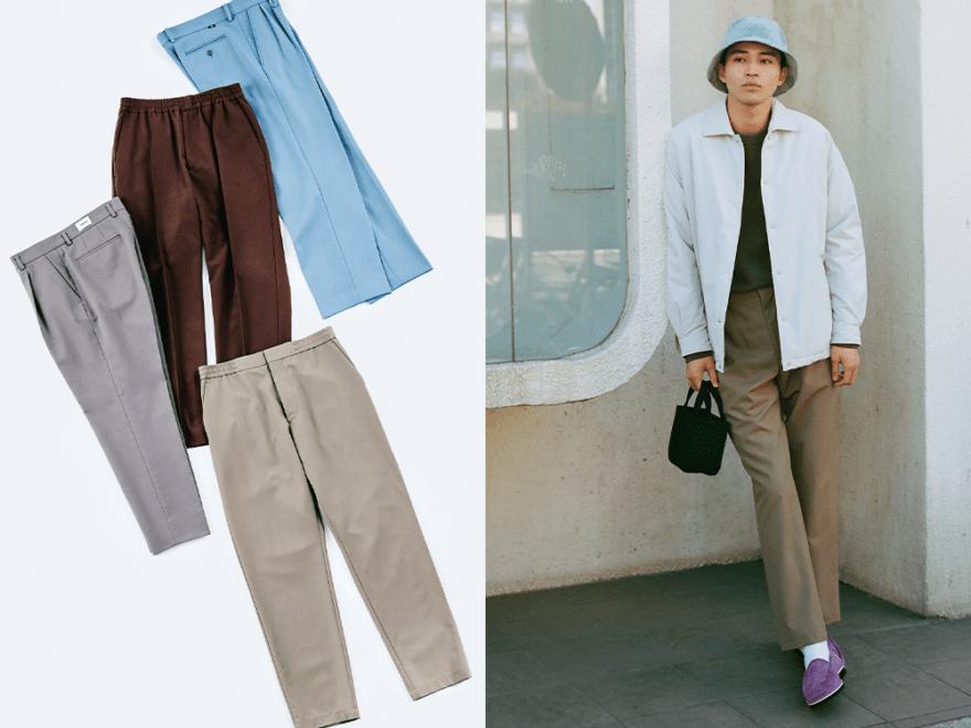 """""""なんかスタイルのある男""""は、こうして作れる!パンツでファッションの軸を確立する方法【スラックス編①】"""