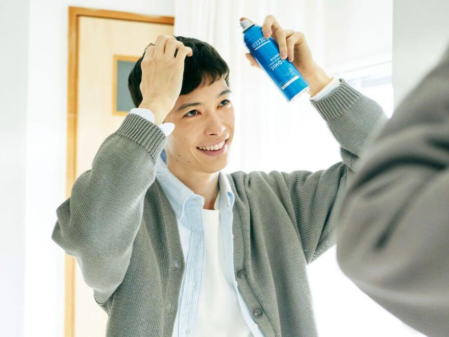 これからも〝イケてるヘア〟のためにはサクセスだ! 毎日のルーティンに頭皮ケアを