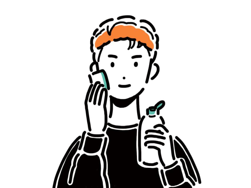 ちゃんと知ってる?【メンズ美容用語辞典】スキンケア編
