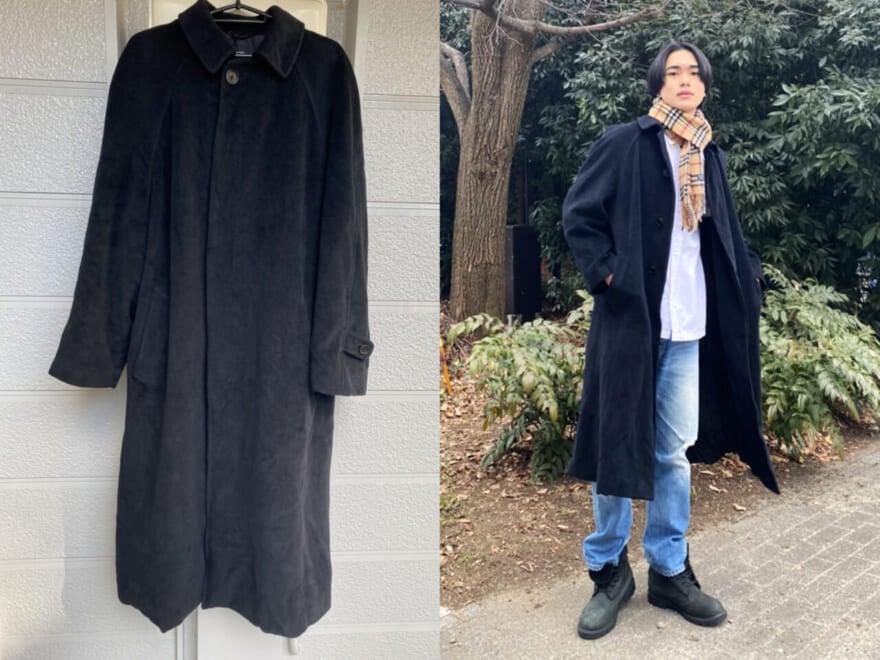 【回しの達人・自慢のヘビロテ服】メンズノンノモデル坂田秀晃の父から譲り受けたアルマーニのコート