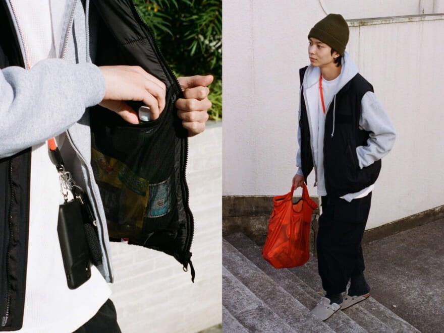大容量ポケット!近所で着たいミリタリーベスト【中田撮ファッション! #007】