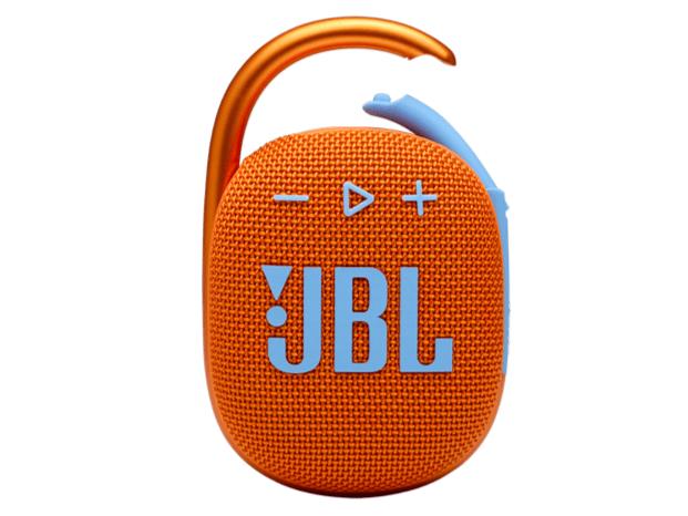 [厳選!デザイン家電]リュックに映える!防水・防塵 スピーカー「JBL CLIP4」