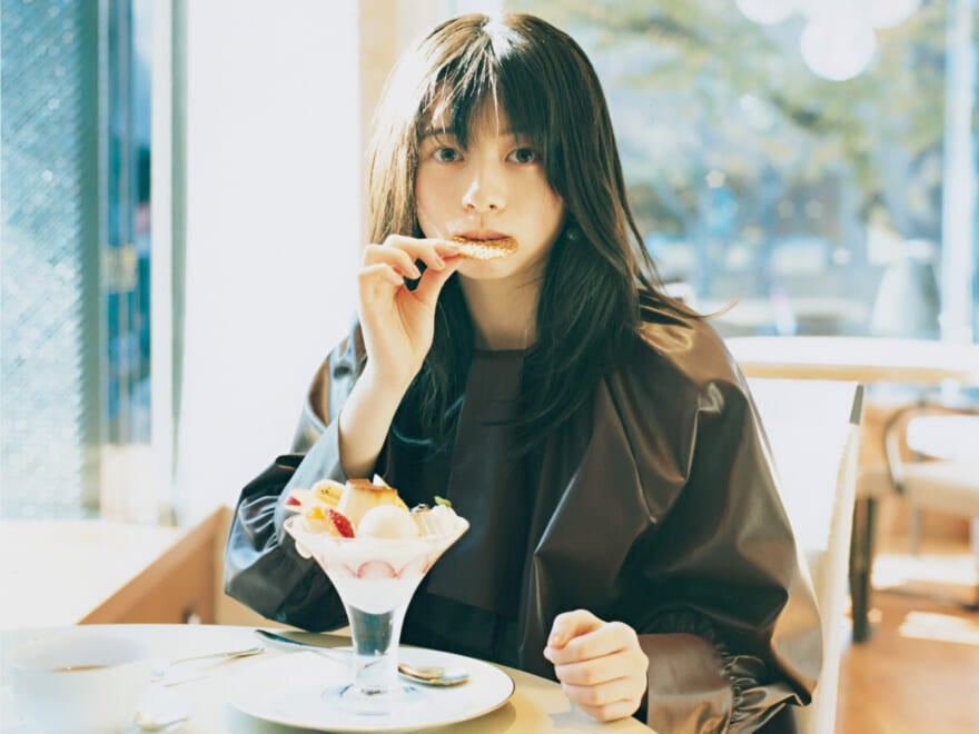 【桜田ひよりと、和光ティーサロン。】 #きみとTOKYOパフェ