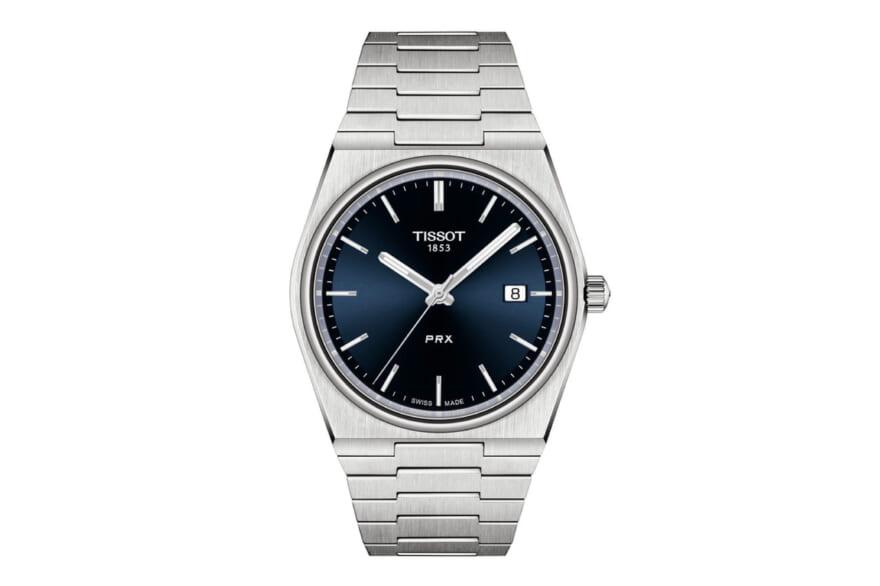 1970年代の銘品腕時計をアップデート!洗練されたヴィンテージ感を纏う[Tissot PRX]