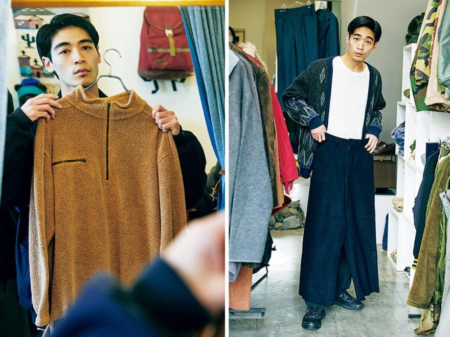 【動画】オンラインでも買える古着屋に、メンズノンノモデルが潜入! 良心的プライスが嬉しい【若林編】