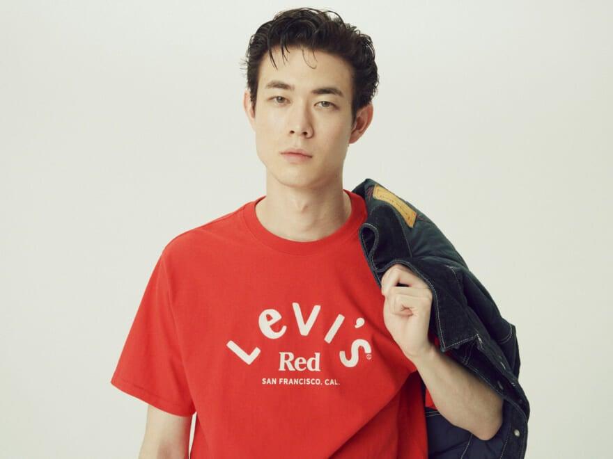 宮沢氷魚が着こなすLevi's®︎ Red「クリーンなワークスタイルの最新形を追え」②