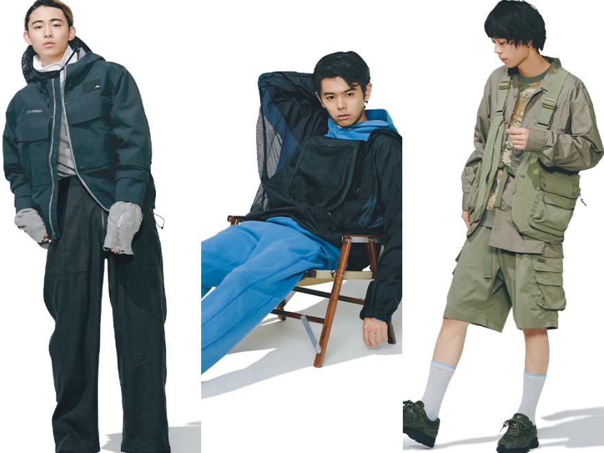 【アウトドアウェアはフィッシング系に人気集中!着こなし3選】 #この春みんなが欲しい服