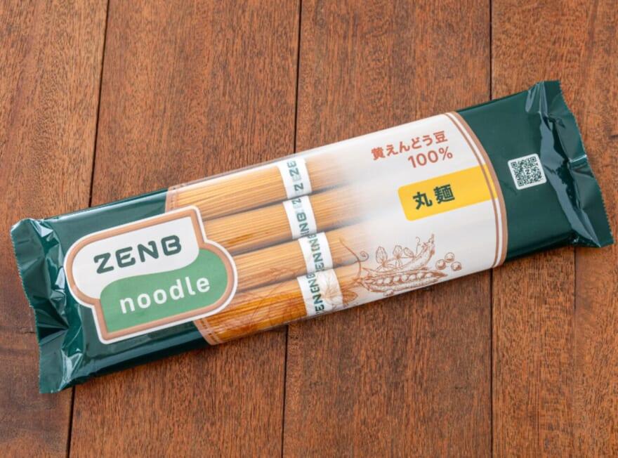 黄えんどう豆100%の「ZENB NOODLE」
