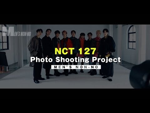 NCT127の表紙メイキング、ロングバージョンを公開!