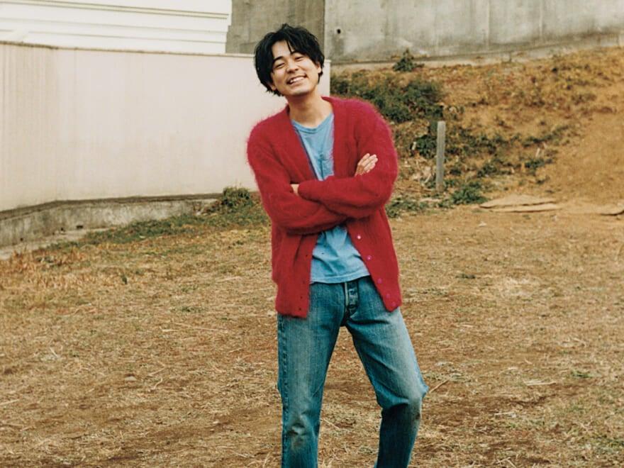 成田 凌、愛を再確認。「古着の赤って本当に好きだ!」