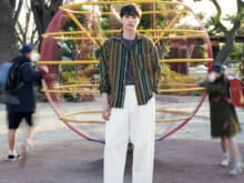 【一ノ瀬 颯×エスニックシャツ】人気俳優のシャツスタイル・ポートレート