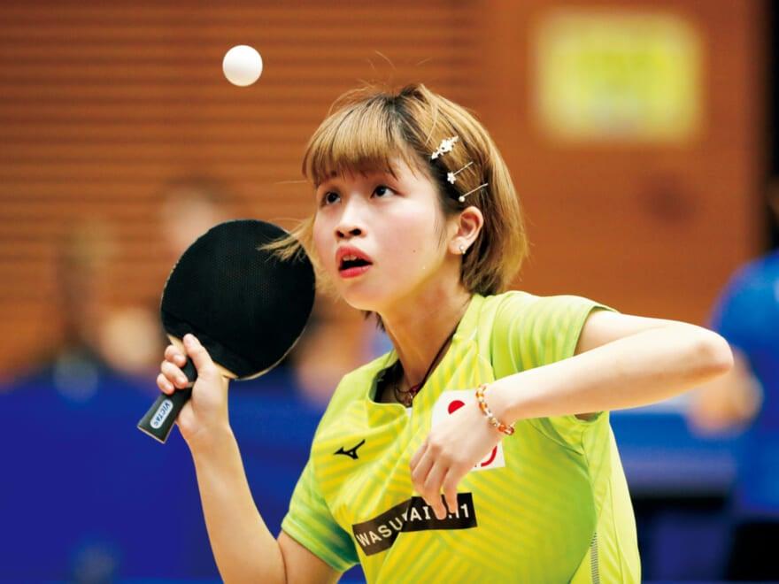 【パラ卓球 】東京パラ内定の古川佳奈美「100%メダルをとる」という強い気持ちで