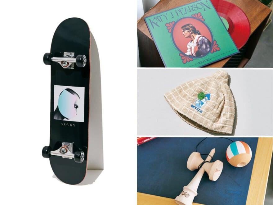 厳選!WEB買い名品リスト【ホビーグッズ8選】スケートボード、レコード、サウナハットetc…