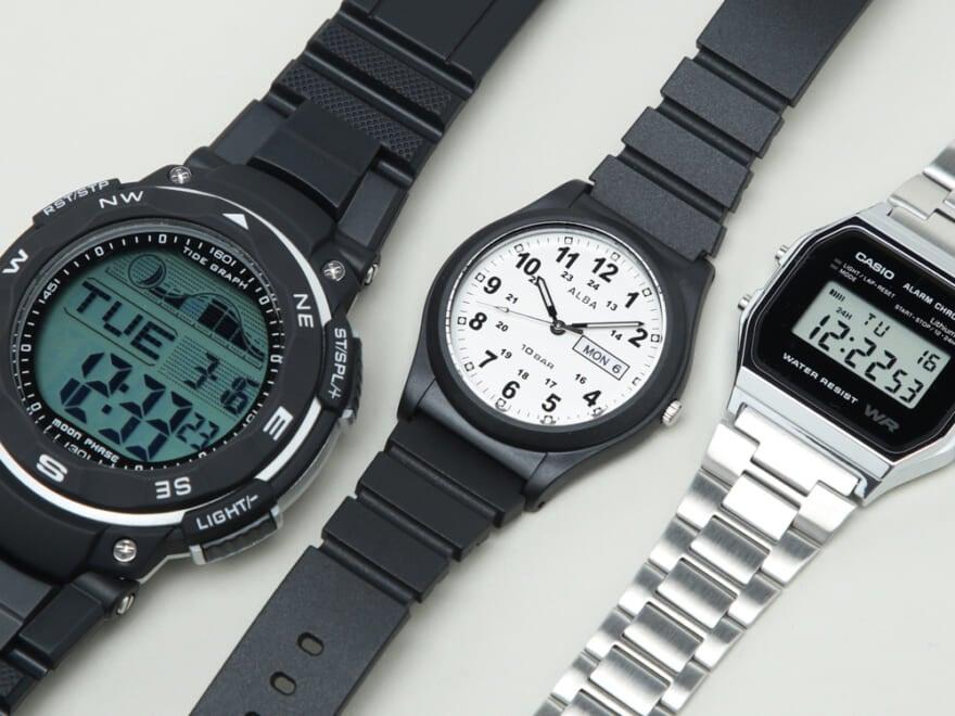 9000円以下の腕時計6選!チープシックなカジュアルウォッチ