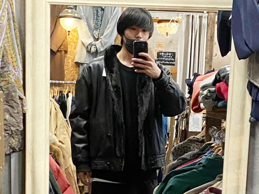春ですが…古着店でレザージャケットに一目惚れ![坂田秀晃ブログ]