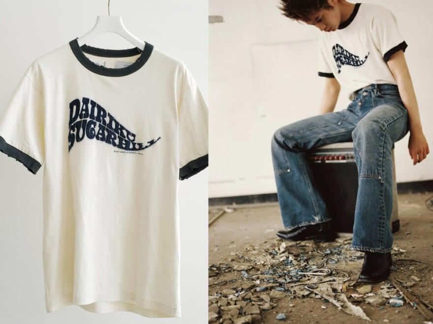 【ダイリク×シュガーヒル×ビームス】人気ブランドコラボの70年代風Tシャツ&デニムが限定発売!