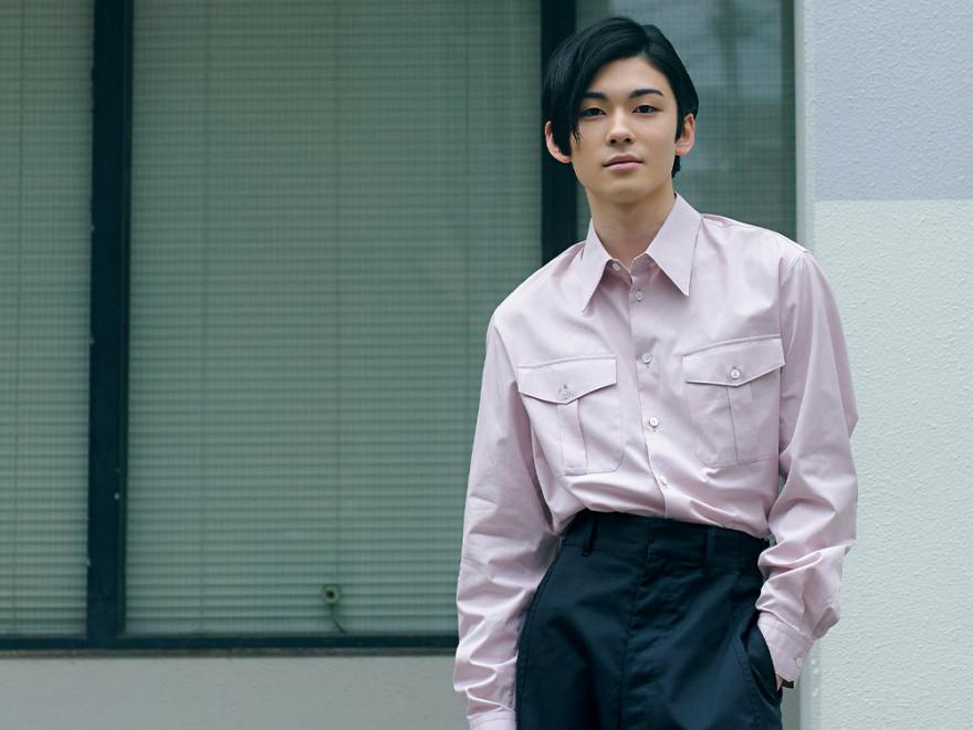 【市川染五郎】「袴のような」ルメールのパンツを着こなす!#100人の夏、ファッション所信表明!