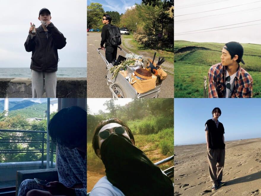 成田 凌、中田圭祐、若林拓也…メンズノンノモデルの「自然の思い出」①