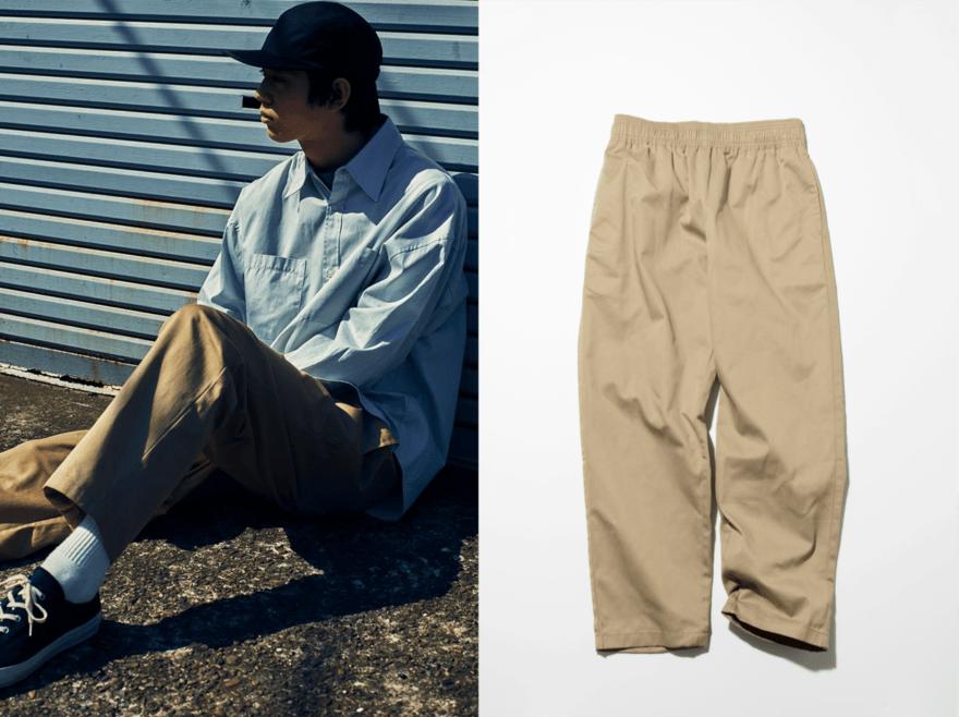 超定番服【GUのシェフパンツ】を、最大限今っぽく着る方法。