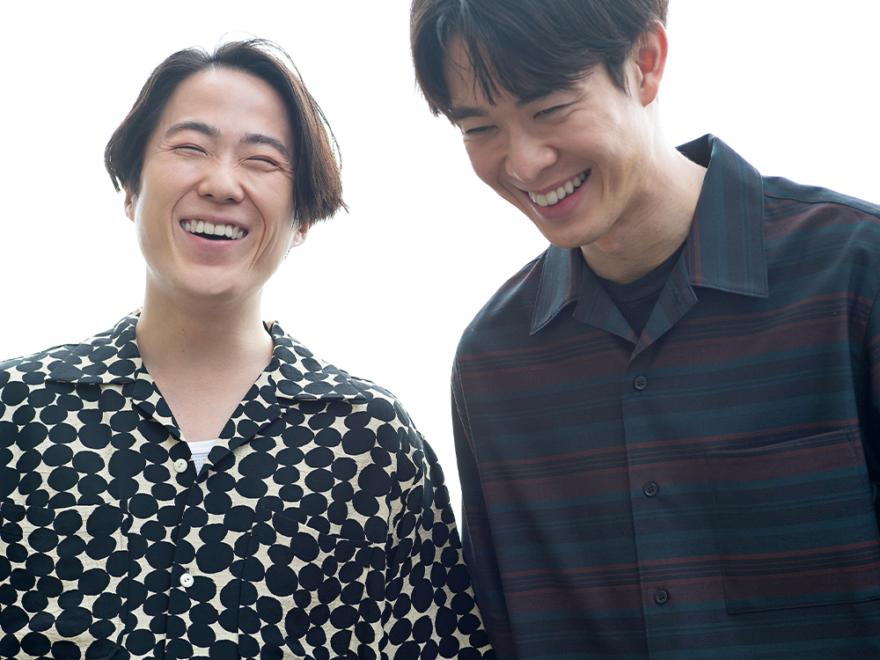 【宮沢氷魚&大鶴佐助】舞台『ピサロ』出演、プライベートでも仲良しな2人が登場!#100人の夏、ファッション所信表明!