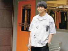 【関根ハズム】「思い入れのあるブランド」ポータークラシックのシャツで登場!#100人の夏、ファッション所信表明!