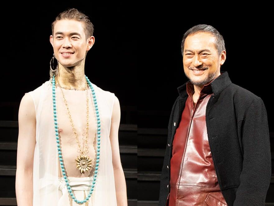 宮沢氷魚、舞台『ピサロ』本日初日、渡辺謙とリベンジ誓う。会見&公開ゲネプロレポート