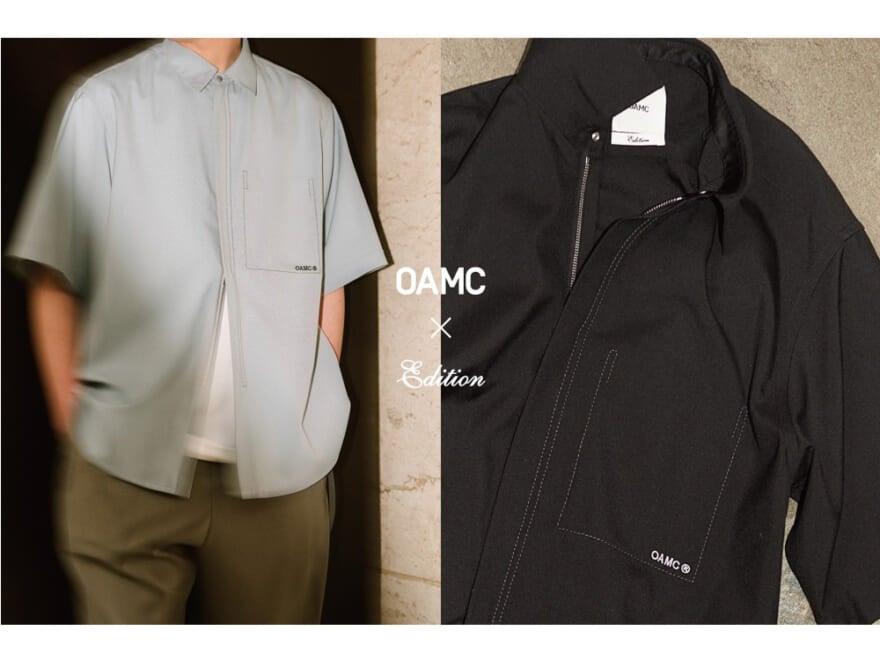 大人気シャツを半袖にリデザイン!【OAMC × Edition】のジップシャツが使えすぎる