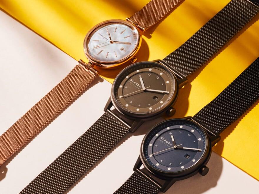 時代が動いた!スカーゲンの新作時計はソーラーウォッチでサステナブル