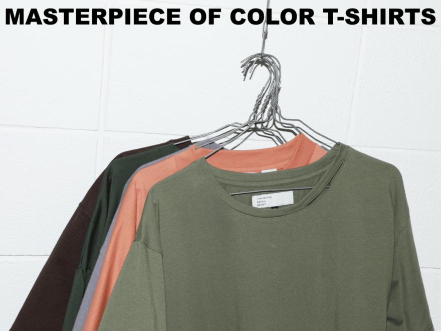 【無地カラーTシャツ】一枚は欲しい名品5選!給料日に買いたい名品図鑑 vol.23