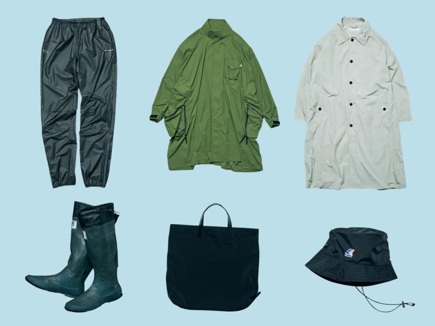 【まとめ】急な雨でも快適に過ごせるファッションアイテム