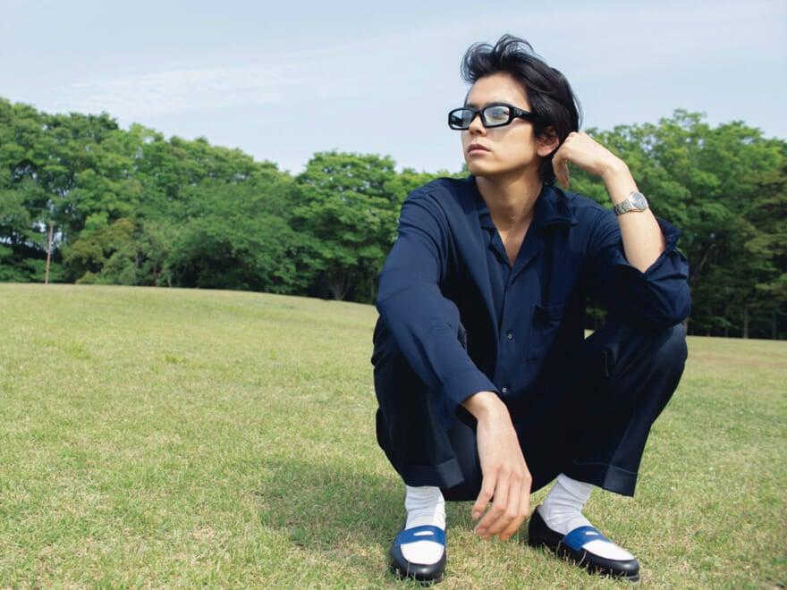 【井上翔太】開襟シャツのサマースタイル #MEN'S NON-NO MODELS 2021