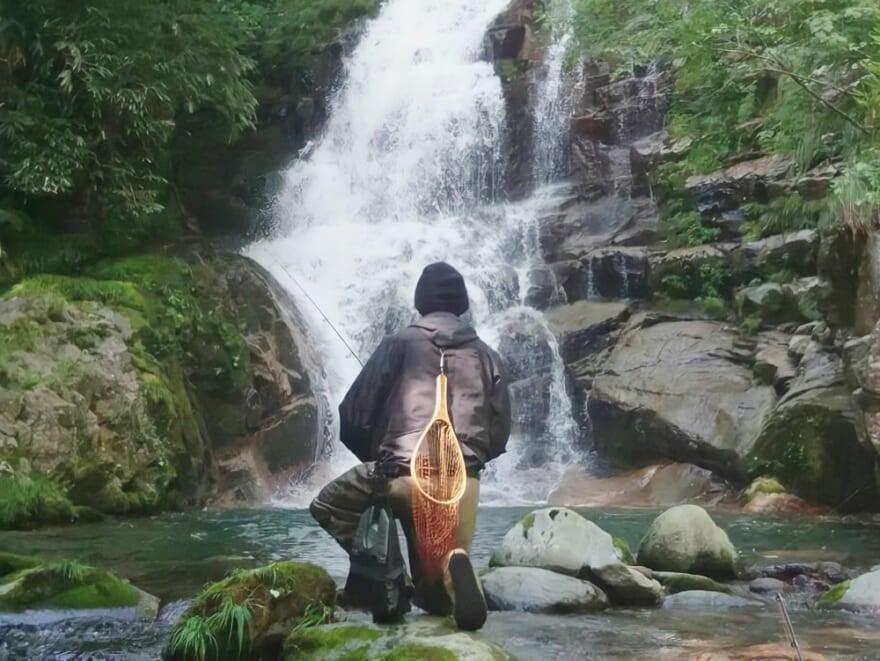 上京してまだ数ヶ月。趣味は地元の川で渓流釣りをすること![自己紹介]