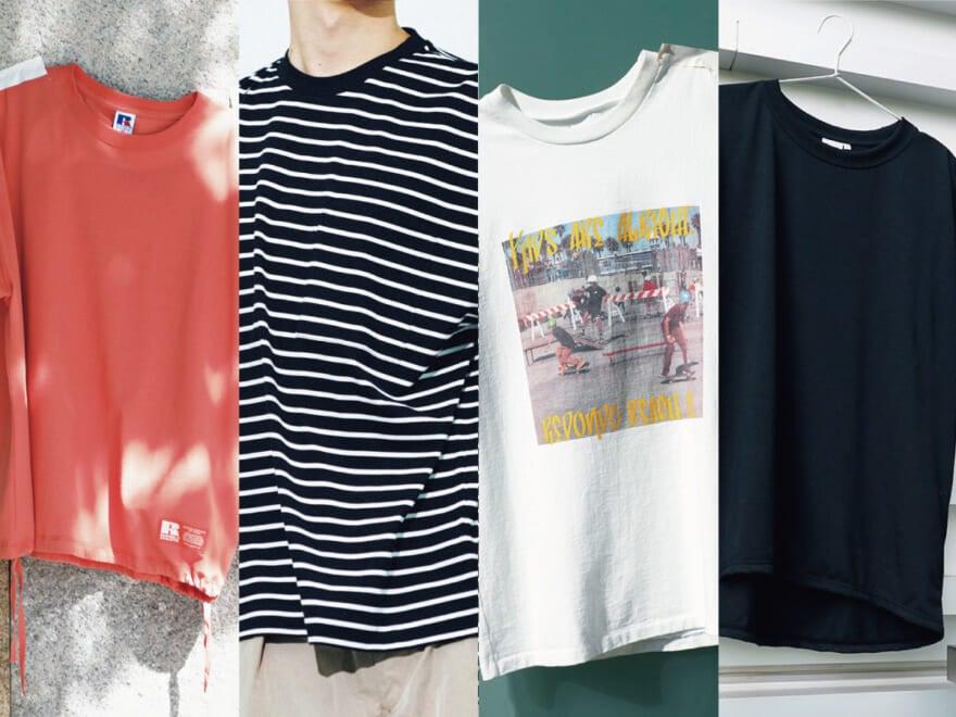 6,000円以下! Tシャツ18選 [H&M、ビームス、無印良品、久米繊維etc…]