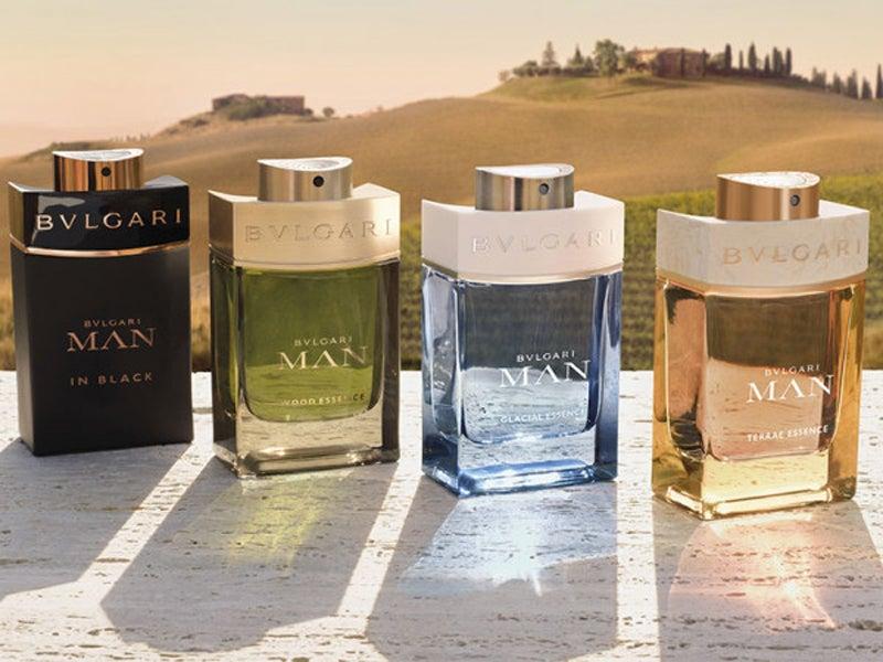 ブルガリの香水「ブルガリ マン」に新作! 火、木、エアーと続き次は大地をイメージ