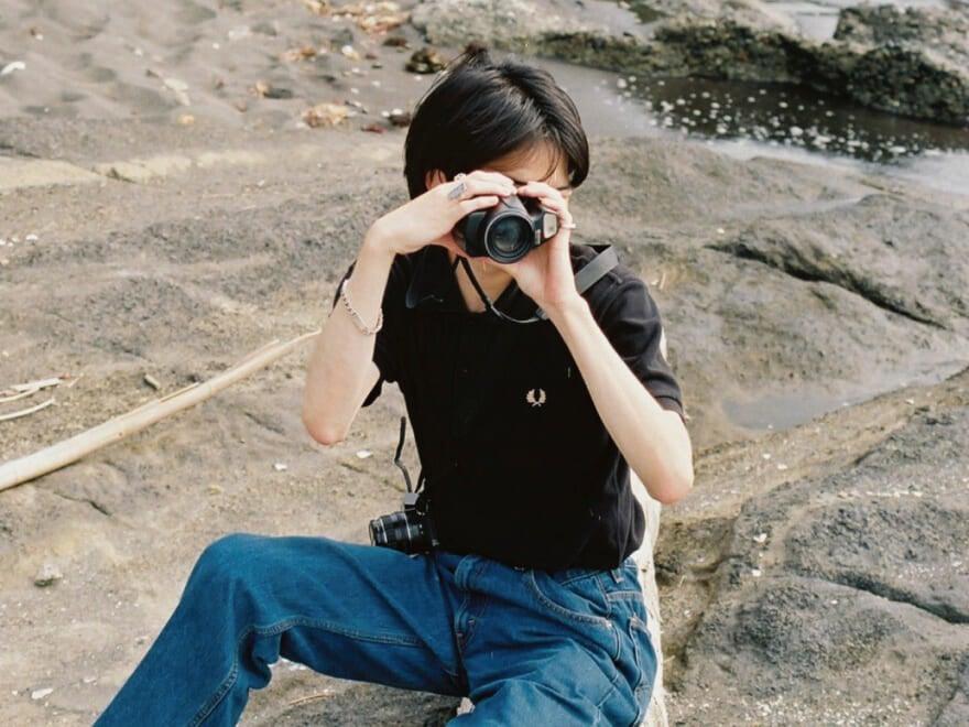 フィルムカメラと僕[休日の過ごし方]