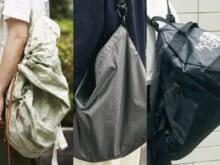 おしゃれな人はどんなバッグを愛用しているのか。 [ジルサンダー、ポーター、ザ・ノース・フェイスetc…]
