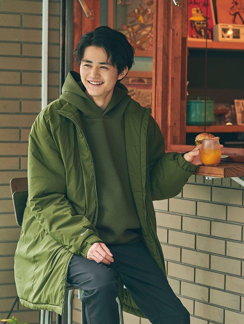 鈴鹿央士 Ouji Suzuka チャンピオン ブラック エディション ロングコート