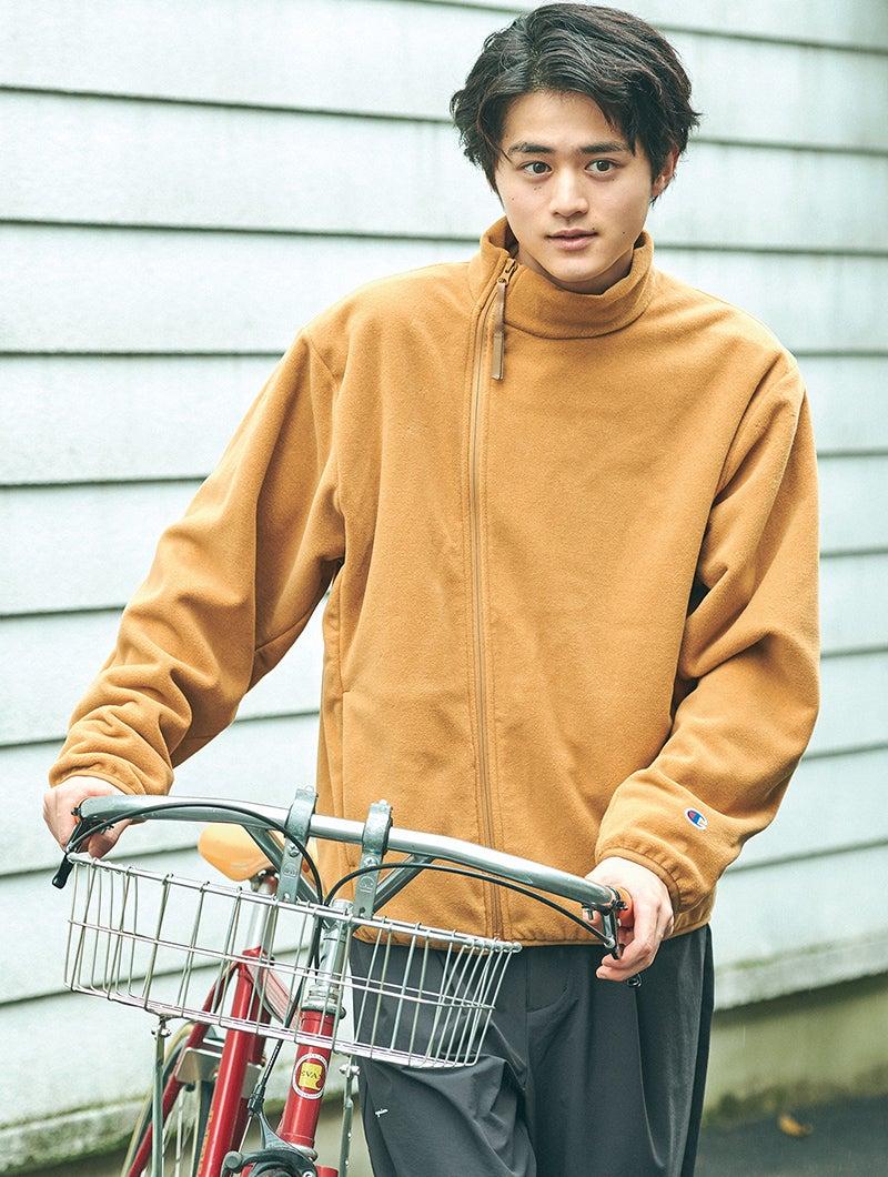 鈴鹿央士 Ouji Suzuka チャンピオン ブラック エディション ジップアップジャケット