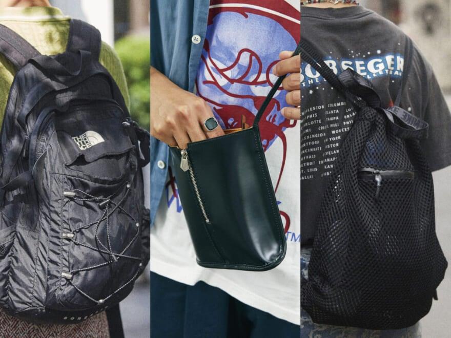 おしゃれな人はどんなバッグを愛用しているのか。 [ザ・ノース・フェイス、ナイキ、古着etc…]