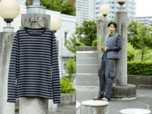 超定番服【アニエスべーのボーダーTシャツ】を、最大限今っぽく着る方法。
