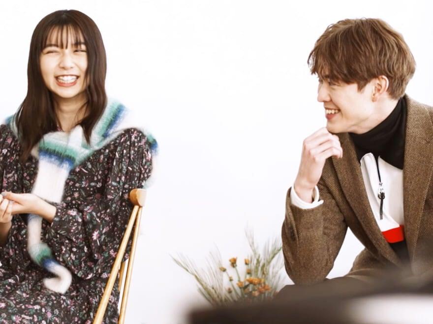 【上白石萌歌&宮沢氷魚】お互いのこと、どう思ってる?コメント動画を公開