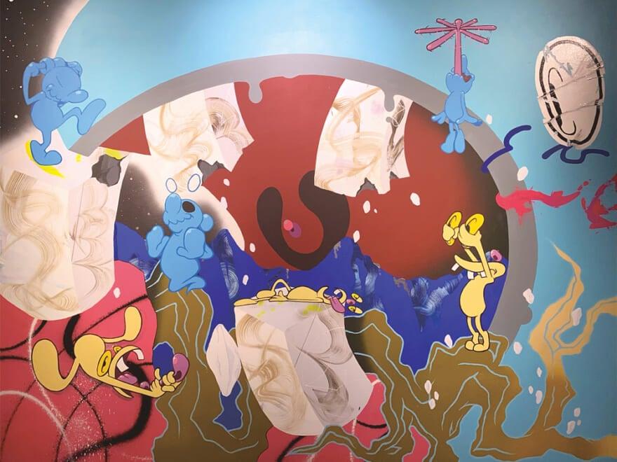スマホでドローイングの新進気鋭アーティストがディーゼル アート ギャラリーで個展開催!