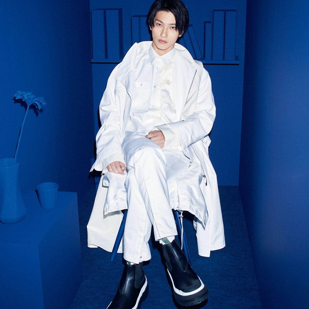 横浜流星がまとうDIOR × sacai 最高のファッションパワー!