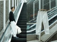 超定番服【ビームスのワイドデニムパンツ】を、最大限今っぽく着る方法。